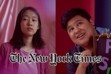 Squinky and Joyce Lin featured in NYT